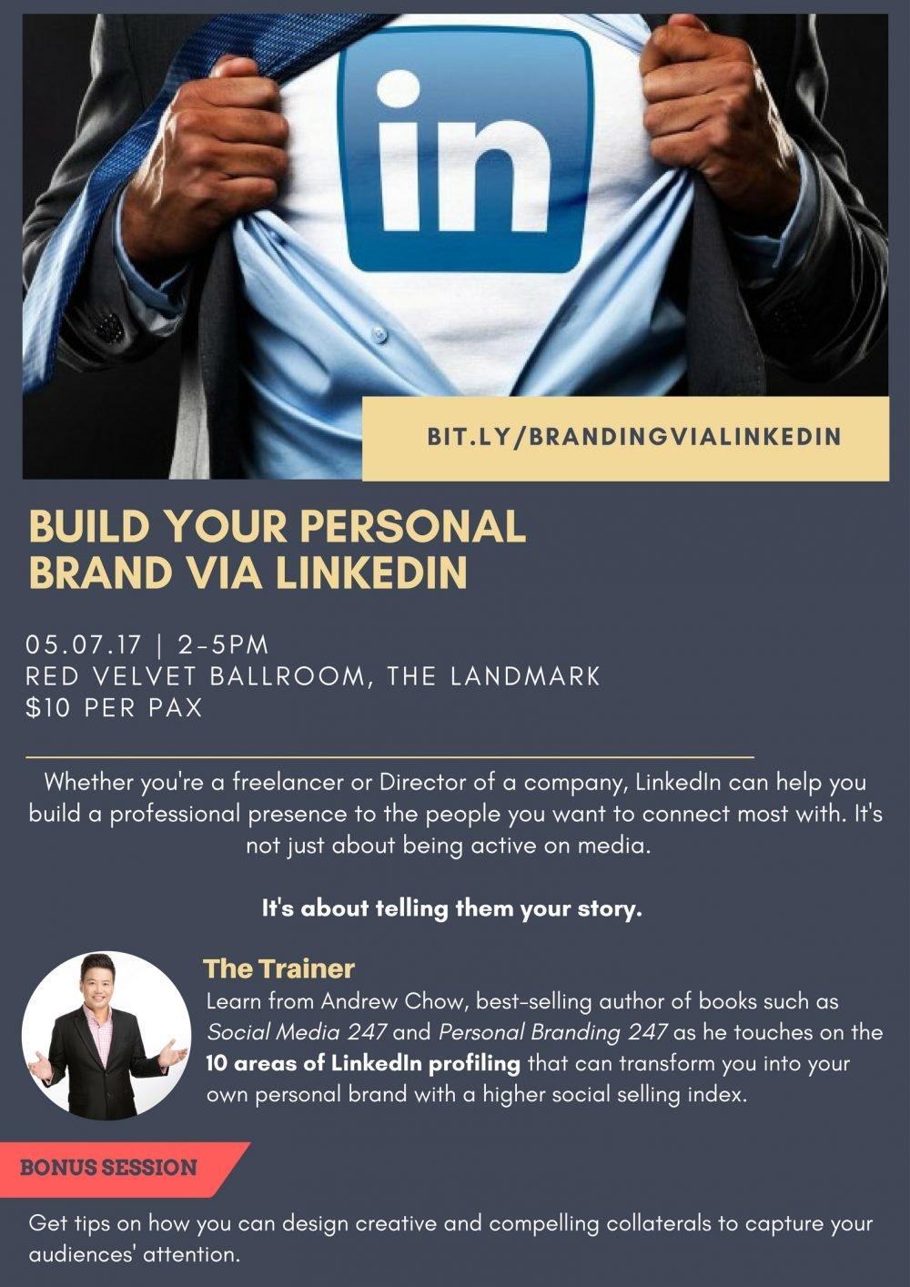 Build Your Personal Brand via LinkedIn
