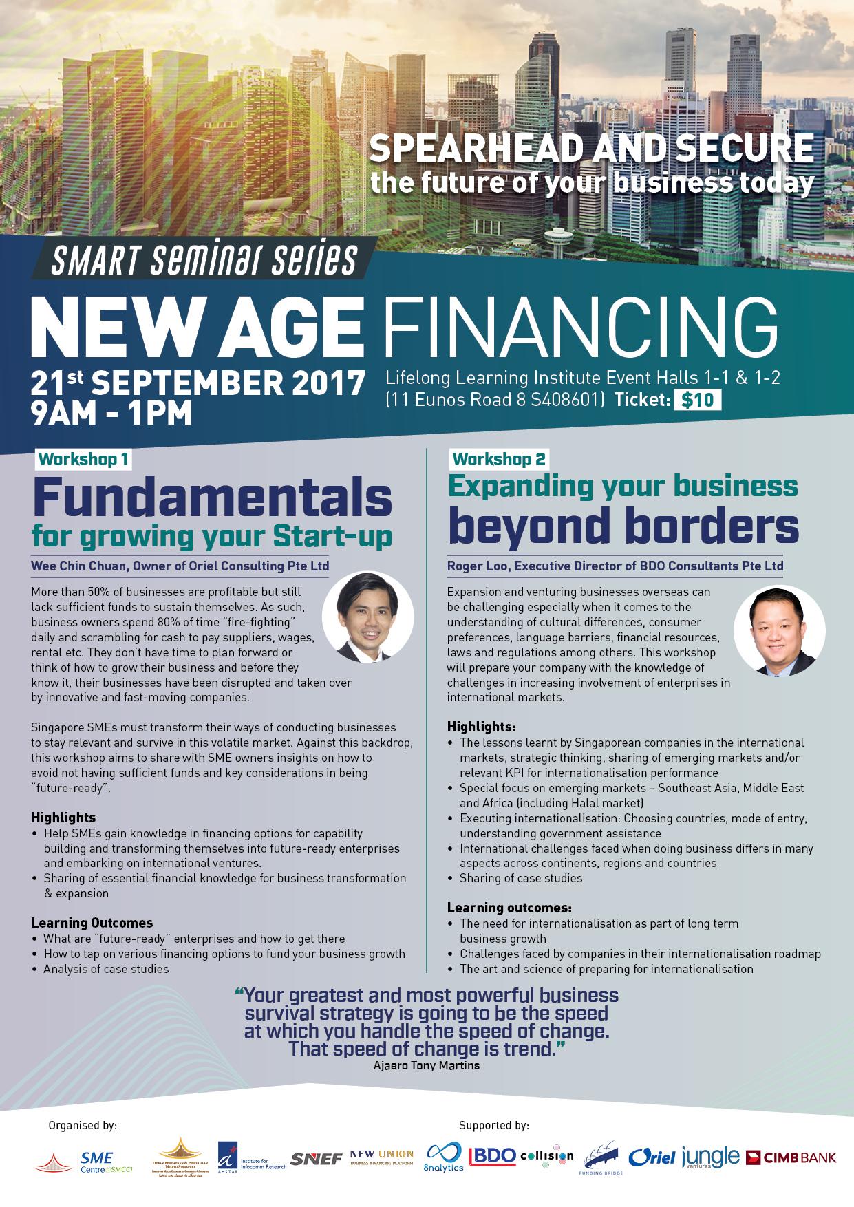 SSS New Age Financing Workshop SessionV1