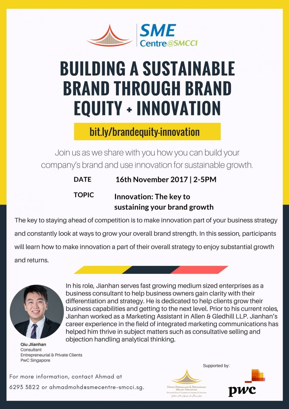 Building a sustainable brand through Brand Equity + Innovation