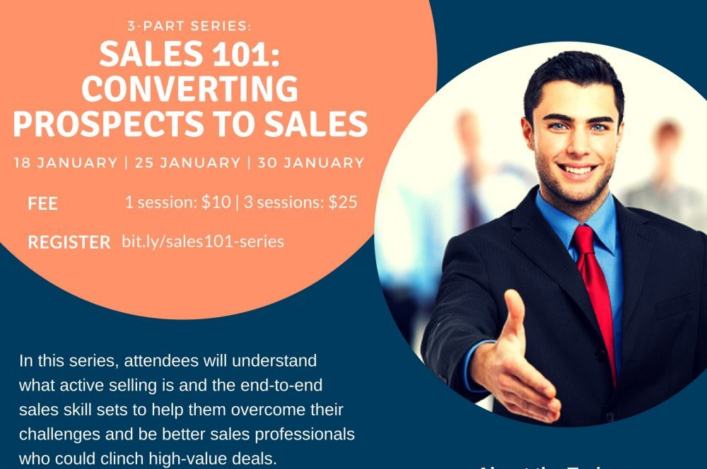 Sales 101: Converting prospects to sales