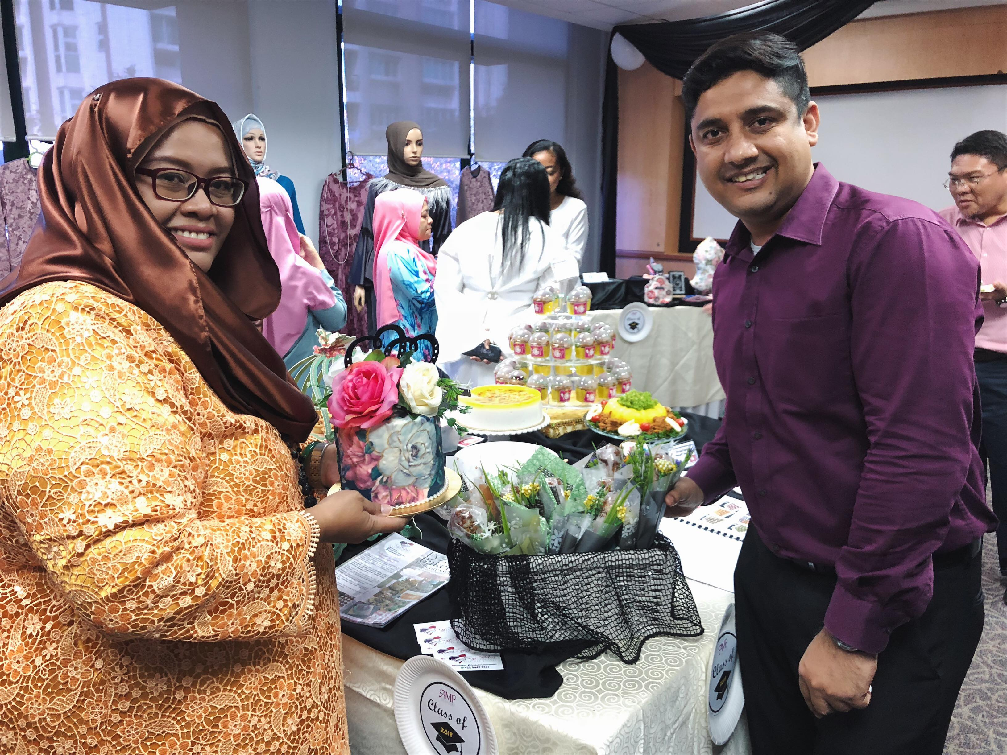 AMP Valedictorian Inspired To Pursue Her Entrepreneurial Journey After Facing Redundancy