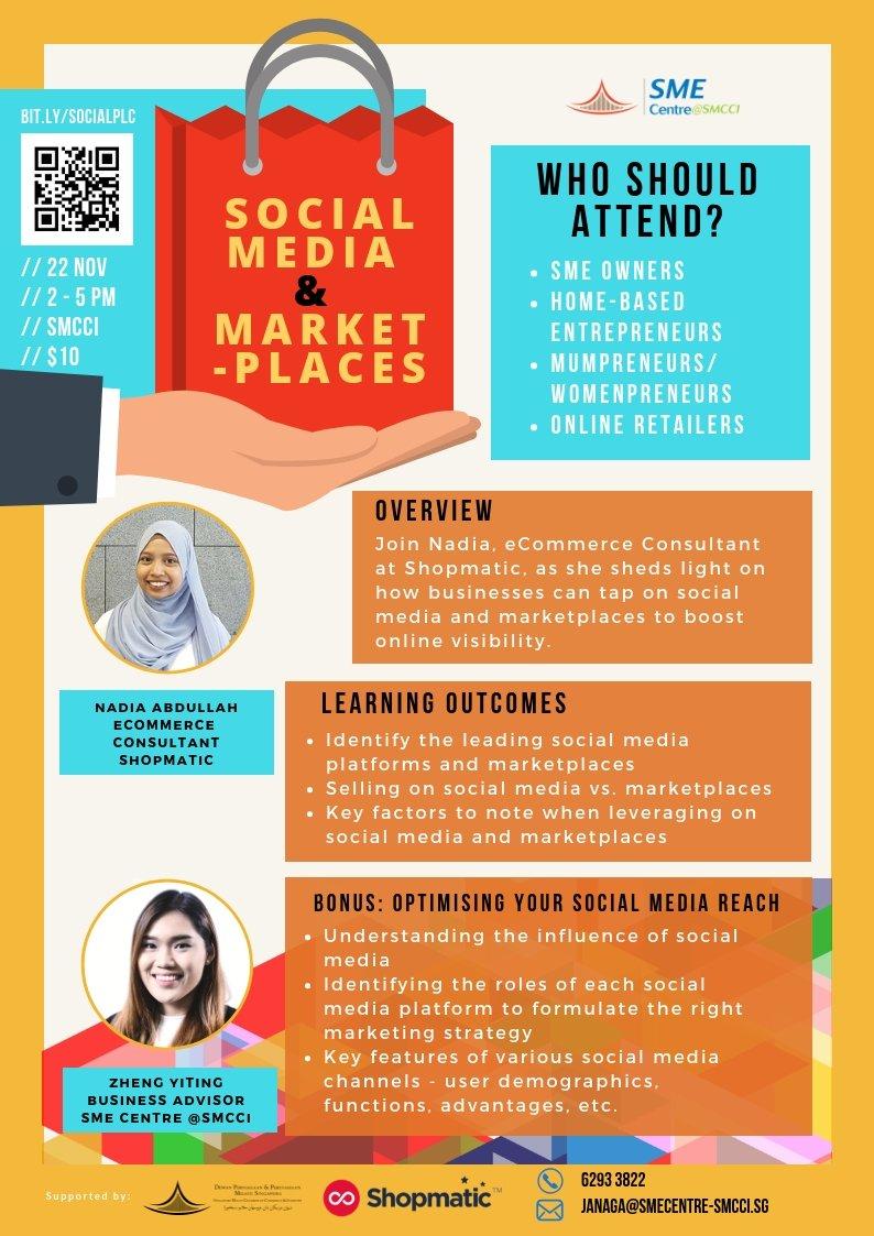 Social media & marketplaces