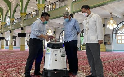 Productivity Solutions Grant Enables Cleaning Company to Purchase State-of-the-Art Vacuum Robot